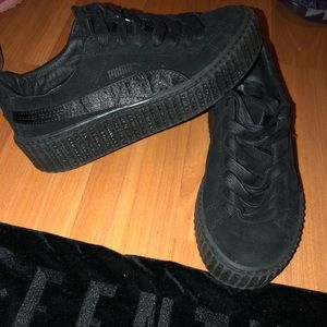 Fenty x Wmns suede creepers 'black'